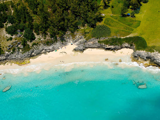 West Whale Bay in Bermuda features a secluded beach.
