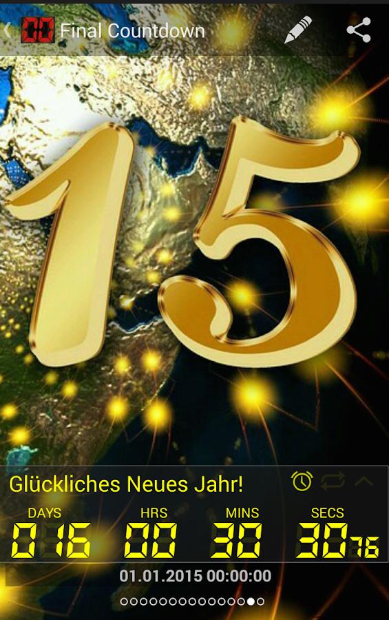 Final Countdown App