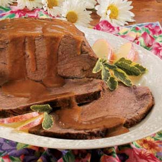 German Sauerbraten.