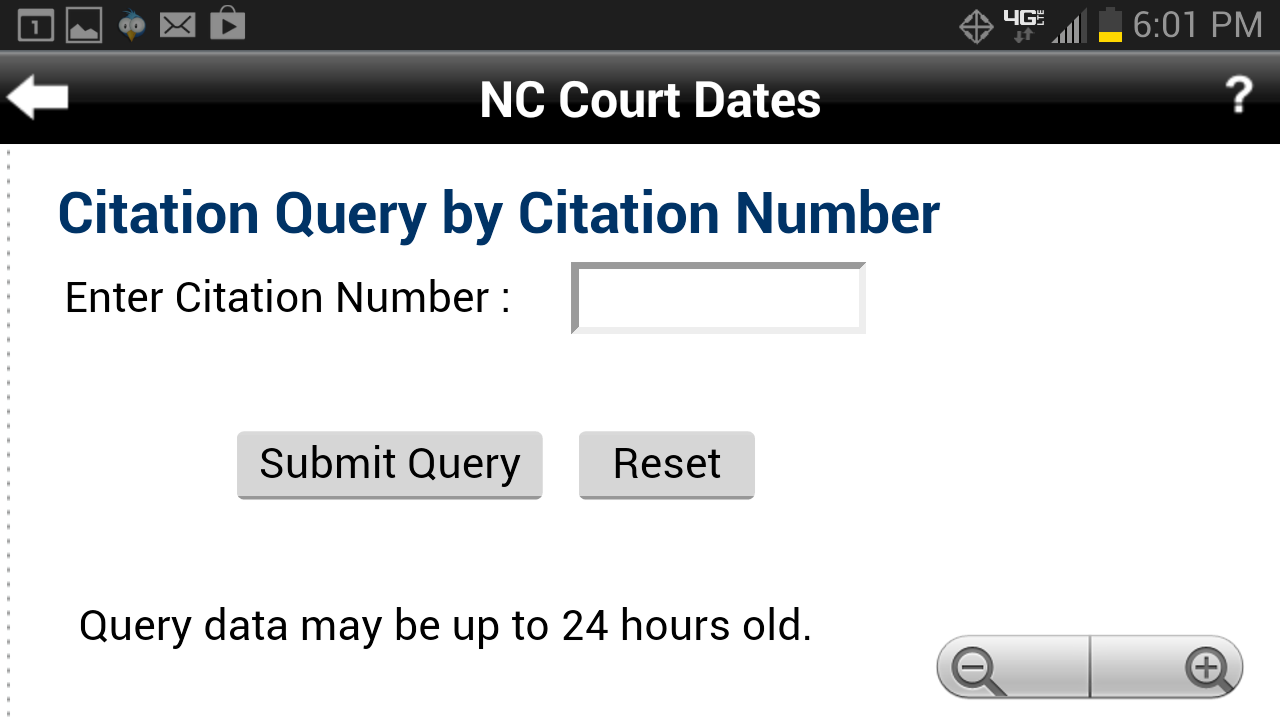 Court dates nc
