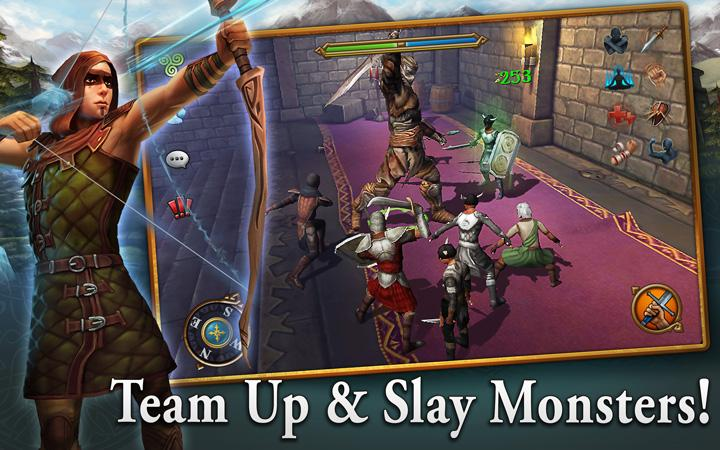 android 3D MMO Celtic Heroes Screenshot 9