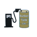 Fuel tank calculation icon