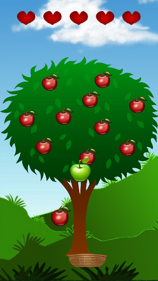 The Apple Catcher- screenshot