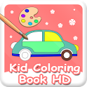 Kid Coloring Book HD icon