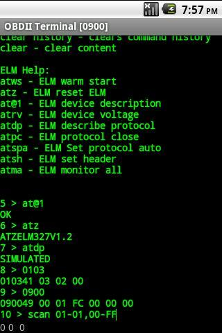 alOBD Terminal- screenshot