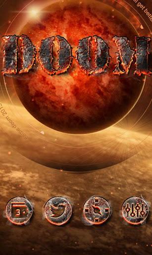 DOOM GO Launcher Theme