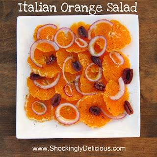 Italian Orange Salad.