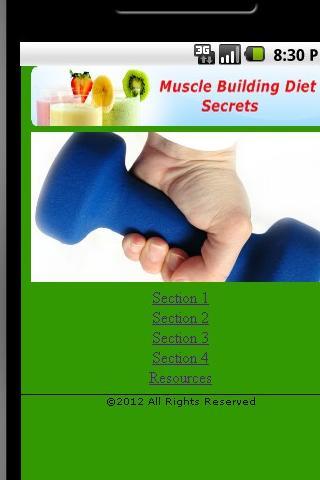 Muscle Building Diet Secrets