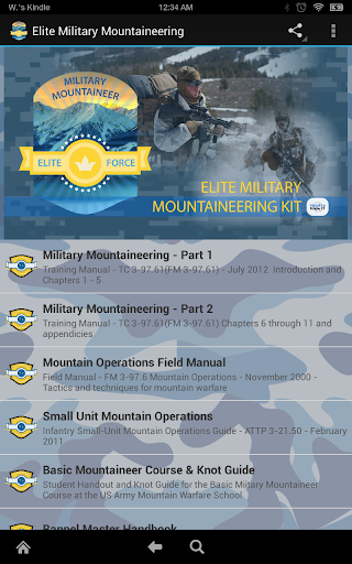 Elite Military Mountaineer