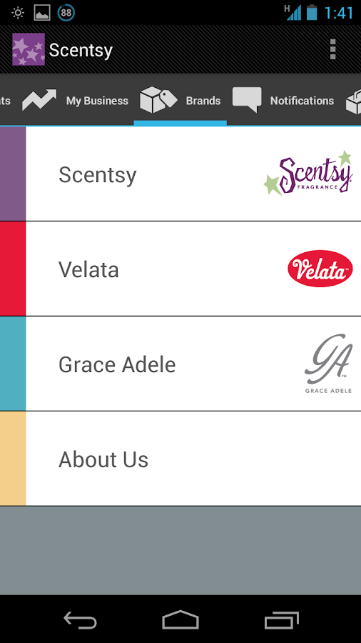 Scentsy - screenshot