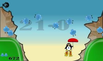 Screenshot of Bouncing Hippos