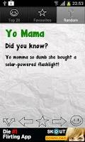 Screenshot of Yo Mama Jokes Deluxe