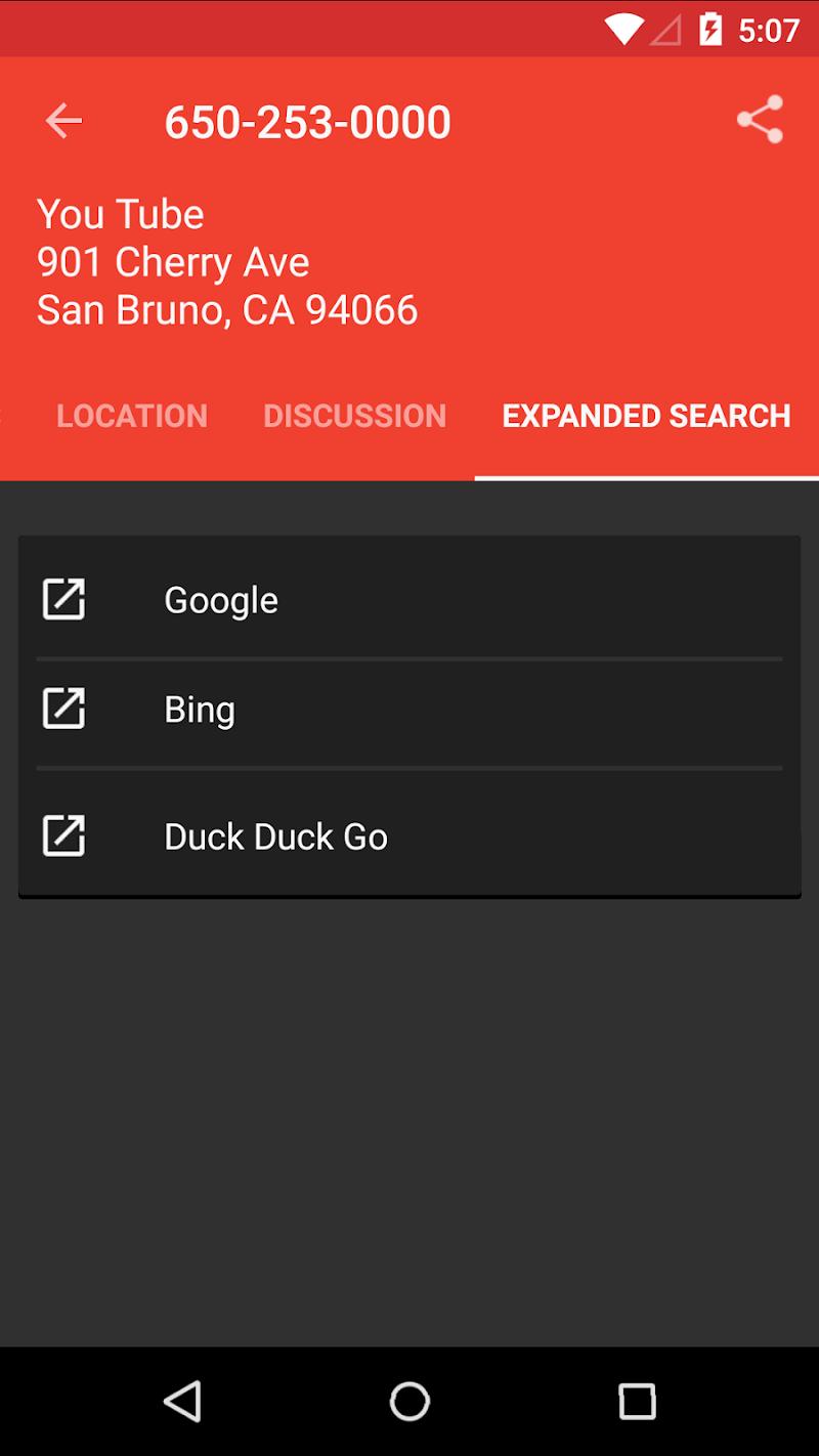 Reverse Lookup PLUS w/ Live Caller ID Screenshot 4