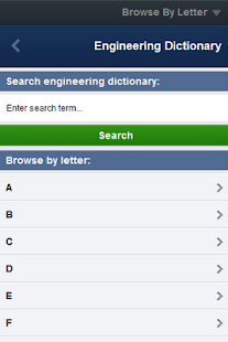 Engineering Dictionary- screenshot thumbnail