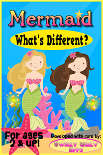 Mermaid Toddler Games