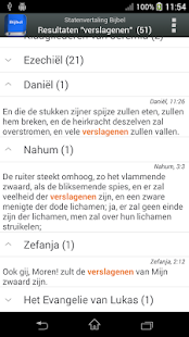 Statenvertaling Bijbel screenshot