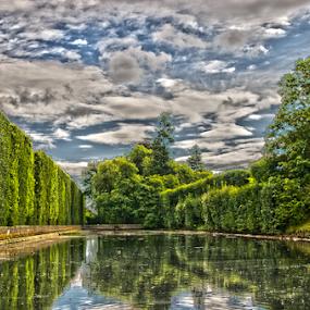 by Morgentau ;) - City,  Street & Park  City Parks ( water, sky, tree, park, trees, city park, landscape,  )