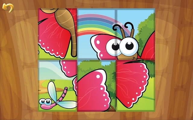 Insects Reptiles & Bees Puzzle - screenshot