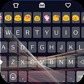 Cool Beam Emoji Keyboard 🌌