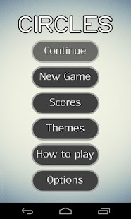 Circles - logic game - screenshot thumbnail