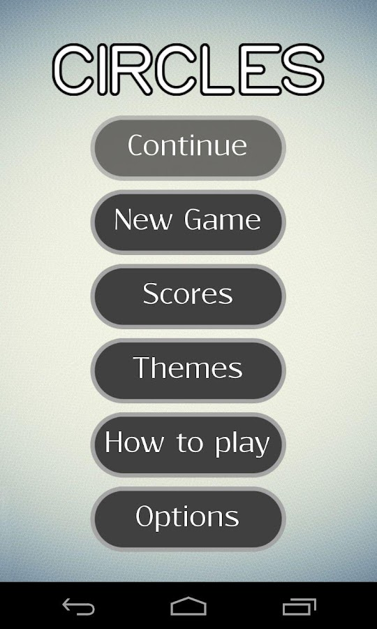Circles - logic game - screenshot