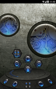 Next Launcher Theme SteampunkN