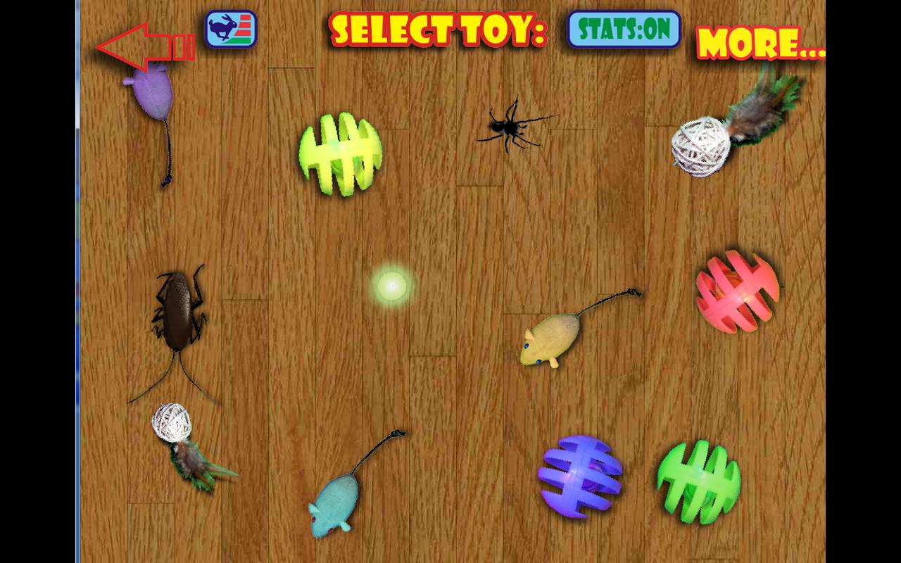 Virtual Cat Toys HD - screenshot
