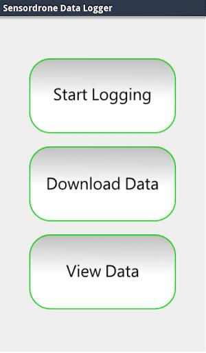 Sensordrone Data Logger