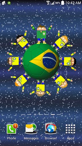 ブラジルサッカーロボットの壁紙