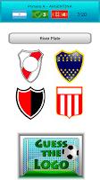 Screenshot of Logo quiz football teams 14/15