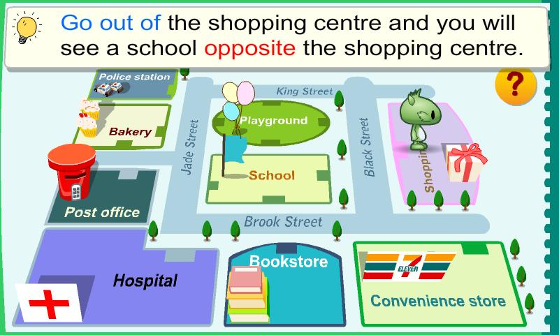 Kids Grammar Prepositions 2 - screenshot