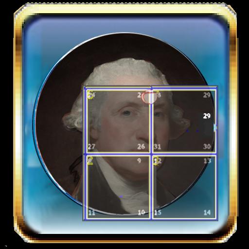 PSlider 15Puzzle History Faces LOGO-APP點子