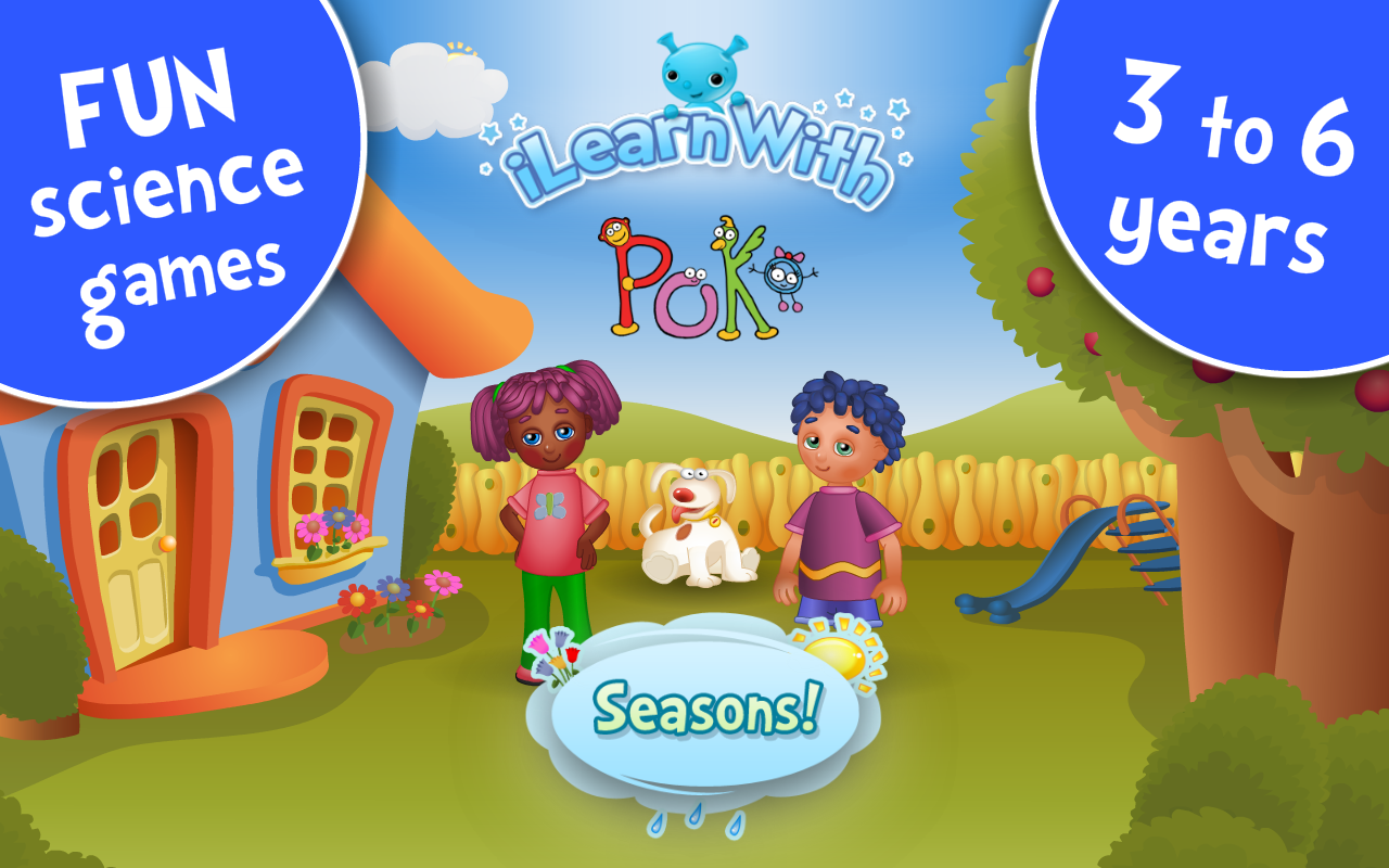 Seasons! Kids Learning games - screenshot