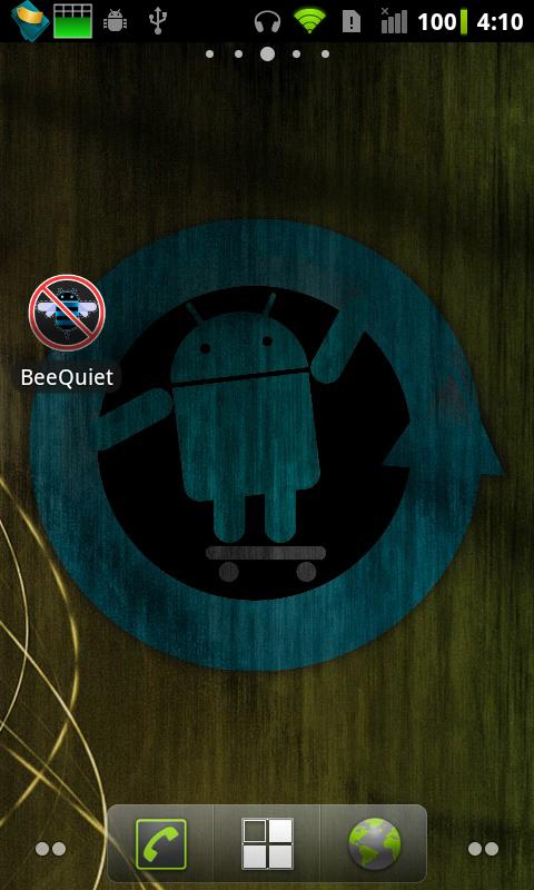BeeQuiet - screenshot