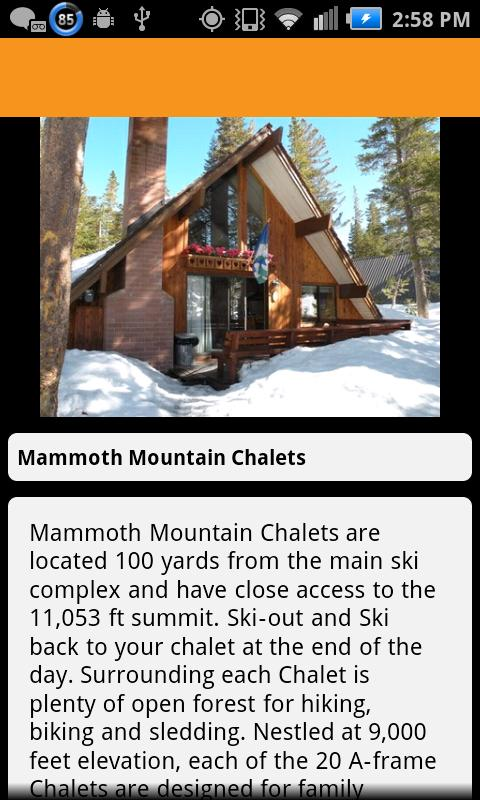 VisitMammoth - screenshot