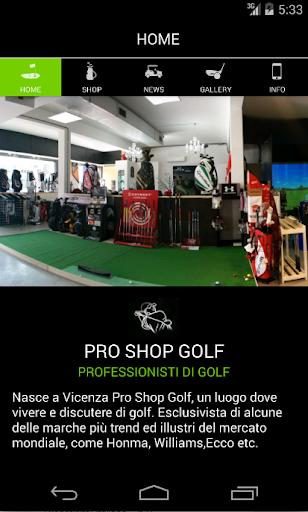 Pro Shop Golf