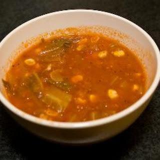 Spicy Spanish Chorizo and Vegetable Stew