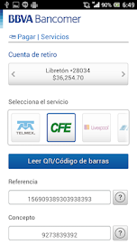 Bancomer móvil Screenshot 4