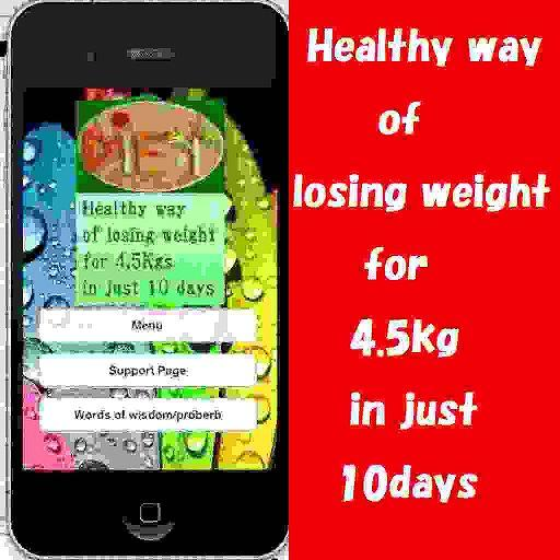 Healthy way for weight-loss 健康 App LOGO-APP試玩