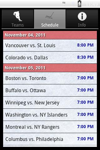 Hockey Radio- screenshot