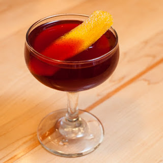 Red Negroni Cocktail.