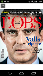 L'Obs - le magazine - screenshot thumbnail