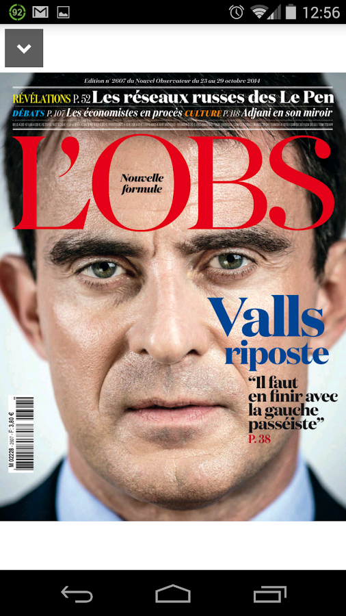 L'Obs - le magazine - screenshot