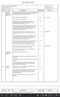ISO 22000 Audit- screenshot thumbnail
