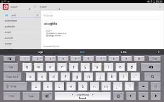 Screenshot of ABBYY Lingvo Dictionaries