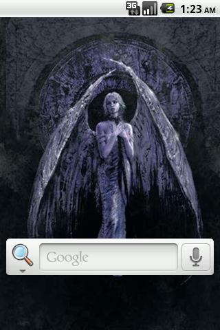Angel Art Live Wallpaper - screenshot