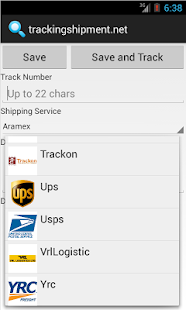 trackingshipment.net- screenshot thumbnail