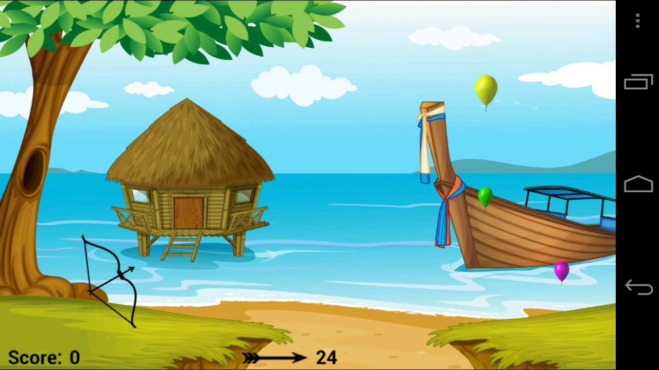 Balloon Bow & Arrow- screenshot