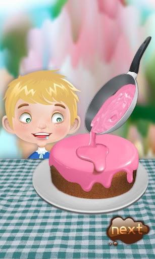 バースデーケーキメーカー - 料理ゲーム