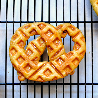 Waffled Soft Pretzels.